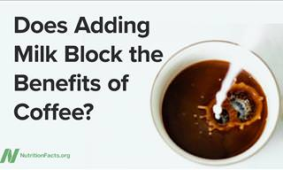 WATCH: Does Milk Affect the Health Benefits of Coffee?