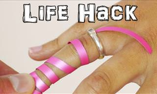 Life Hack: How to Remove a Stuck Ring From a Finger