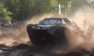 See the Ripsaw Tank in Action