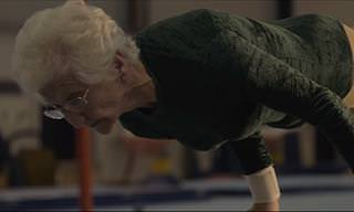 The World's Oldest Gymnast Will Amaze You!