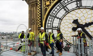 You Cannot Miss This Close Look at the Big Ben's Makeover