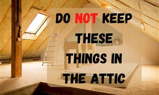 12 Things That Should Never Be Stored in the Attic