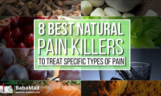 8 Best Painkillers Offered by Nature