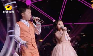 These Two Young Children Put on an Unbelievable Show!