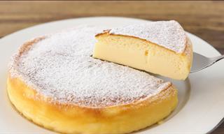 This Japanese Cheesecake Requires Minimal Preparation