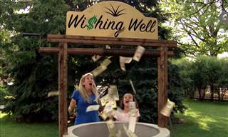Hilarious! The Most Generous Wishing Well on Earth...
