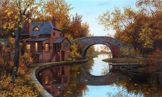 Beautiful Paintings by Evgeny Lushpin