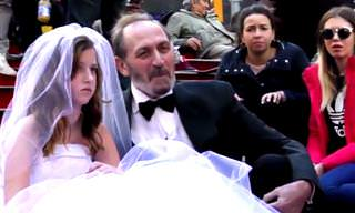 Old Man Marries Little Girl Social Experiment