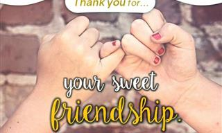 Send a Message of Gratitude to a Friend Today!