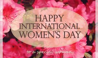Send Your Wishes for Women's Day!