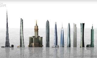 Taller Doesn't Mean Bigger - the True Size of Skyscrapers