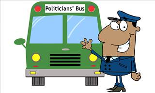 A Busload of Politicians Get Into a Country Fix