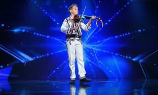 Watch This Young Musician Play the Violin