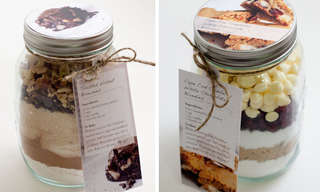 A DIY Treat: Make a Yummy Brownie Mix In a Mason Jar