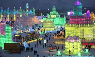 The 31st Harbin Ice Festival in China