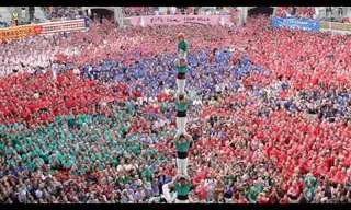 The Human Castles - Incredible fun!