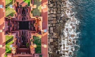 8 Aerial Shots of Barcelona, Revealing the City's Symmetry