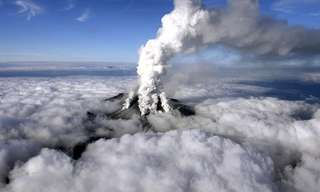 Mount Ontake Volcano Eruption