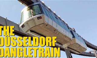 Let's Take a Ride in Germany's Suspended Monorail