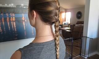 Tutorial: Easiest Way to French Braid Your Hair
