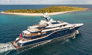 This Amazing Yacht Will Dazzle You