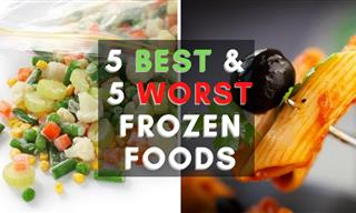 Frozen Foods: The Best and the Worst Ones to Get