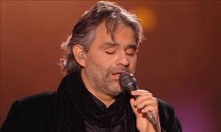 I Can't Help Falling in Love with Bocelli's Elvis Tribute