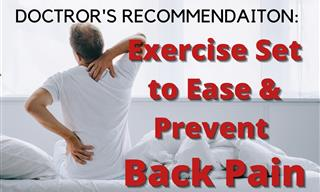 6 Effective Exercises to Ease Back Pain & Heal Your Spine
