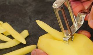 You May Not Be Using Your Peeler Properly...