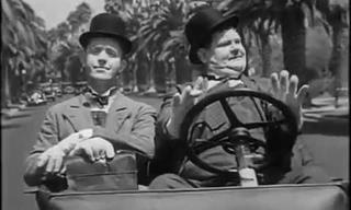 Classic Comedy: Laurel & Hardy at Their Goofiest Best