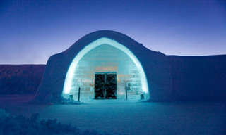 The Icy Castle - World's Greatest Ice Hotel!