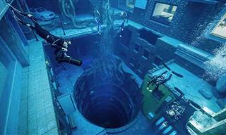 The World's Deepest Swimming Pool Is Located in Dubai