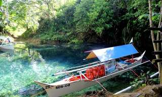 Hinatuan, the Enchanted River!