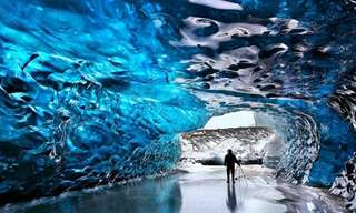 Frozen and Beautiful - Amazing Glacier Caves!