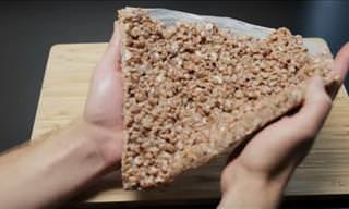 Delicious! I Never Thought of Using Rice Krispies Like This