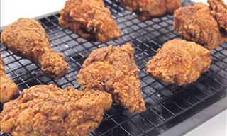 What Secret Ingredient Makes This Fried Chicken So Tasty?