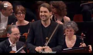 David Garrett Performs Monti's Csárdás