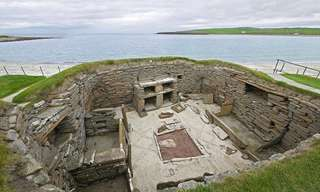 The Ancient Village of Skara Brae...