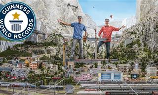 Guinness Record: The Biggest Model Train Set in the World