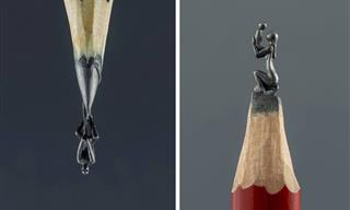 13 Lovely, Moving & Detailed Pencil Lead Sculptures