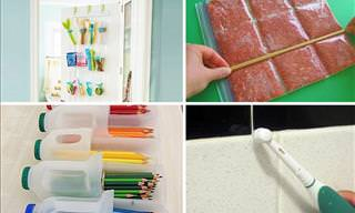 Brilliant home organization tips