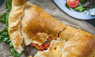 The Tastiest Calzone Recipe Ever!