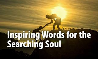 Inspiring Words for the Searching Soul