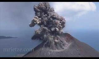 Beauty and Drama of a Volcanic Eruption, From Your Couch