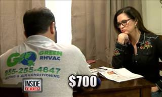 Hidden Camera: Repairman Tries to Charge $700 for Simple Fix!