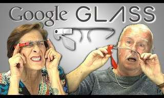 Hilarious:  When Babyboomers Try Using Google Glass...