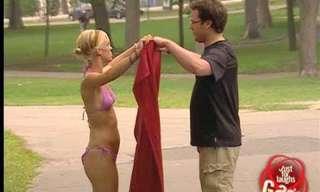 The Bikini Nun - Funny Prank!