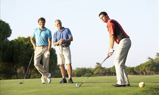 Joke: The Golfers and the Late Tee Time