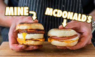 How to Make a McDonald's Egg McMuffin at Home