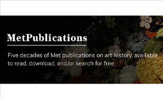 MetPublications - Over 500 Free Books to Enjoy